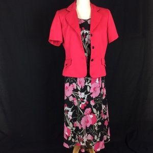 Studio One 2pc Dress and Short Jacket Set*FINAL*
